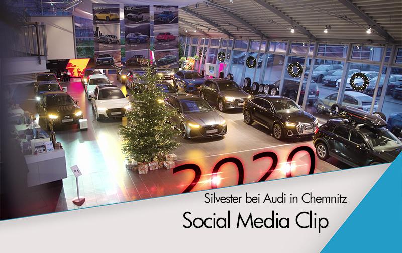 Silvester im Audi Zentrum Chemnitz
