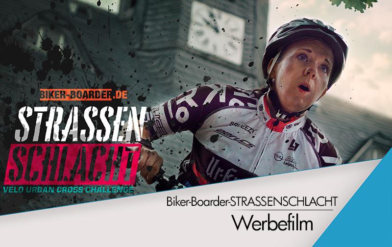 Biker-Boarder-STRASSENSCHLACHT