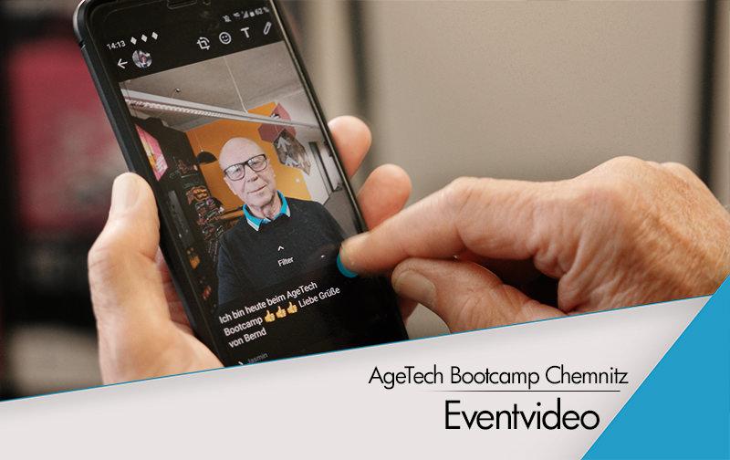 AgeTech Bootcamp Eventvideo Videoproduktion Filmagentur Videoagentur Event Chemnitz Sachsen Zwickau Business
