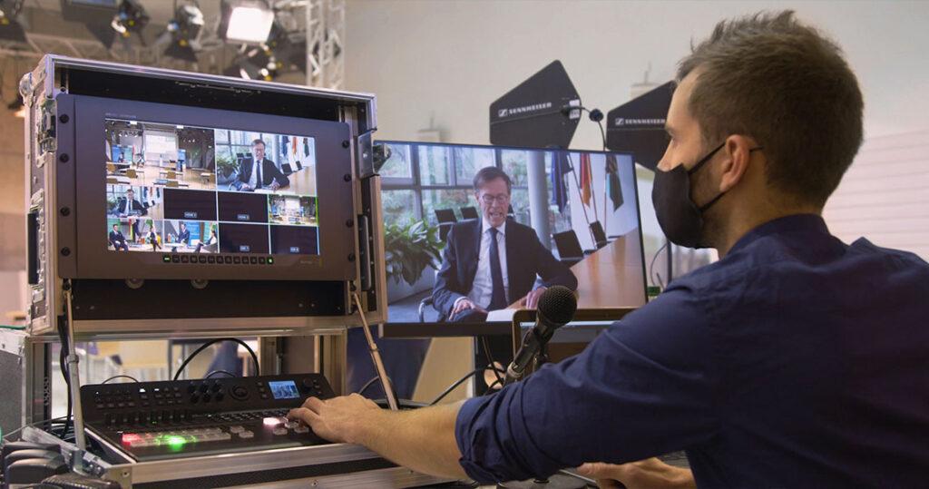 Koschmiederfilm-Liveübertragung-deutsch-belarussisches-Wirschaftsforum-Mittweida