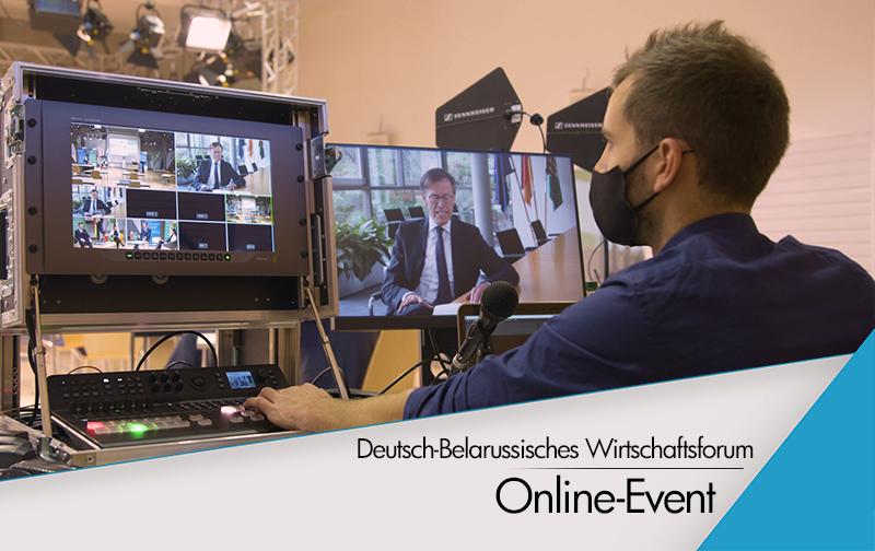 Hybrid-Event: Deutsch-Belarussisches Wirtschaftsforum