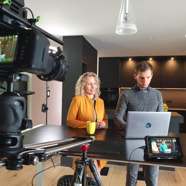 Videodreh Limbach-Oberfrohna Produktfilm Clab Chemnitz Startup