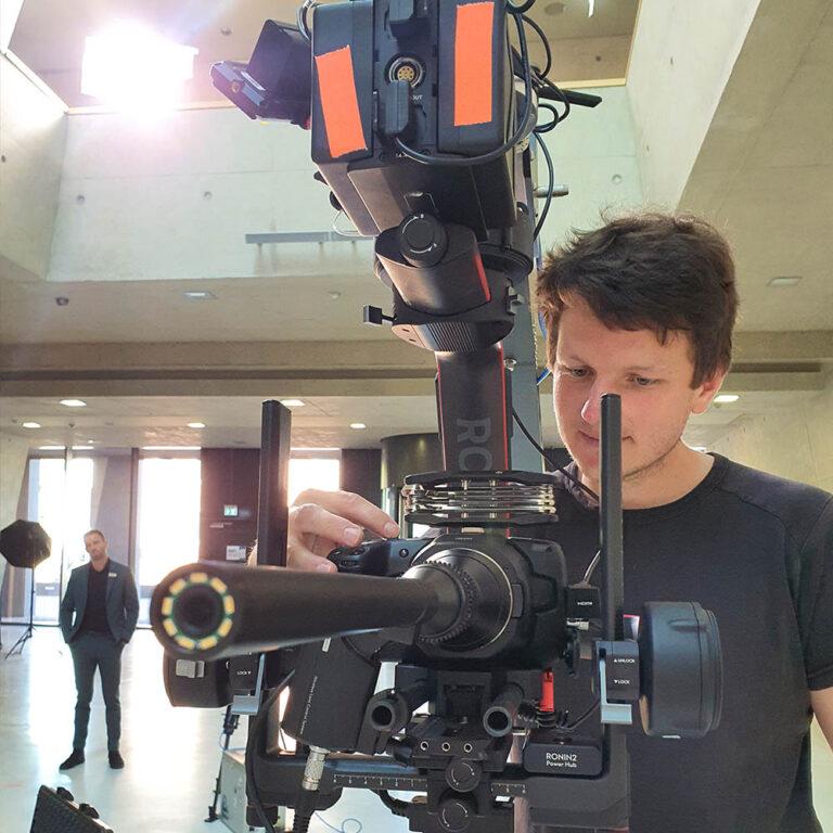 Videodreh Mittweida Kameramann Produktfilm Clab Chemnitz Startup