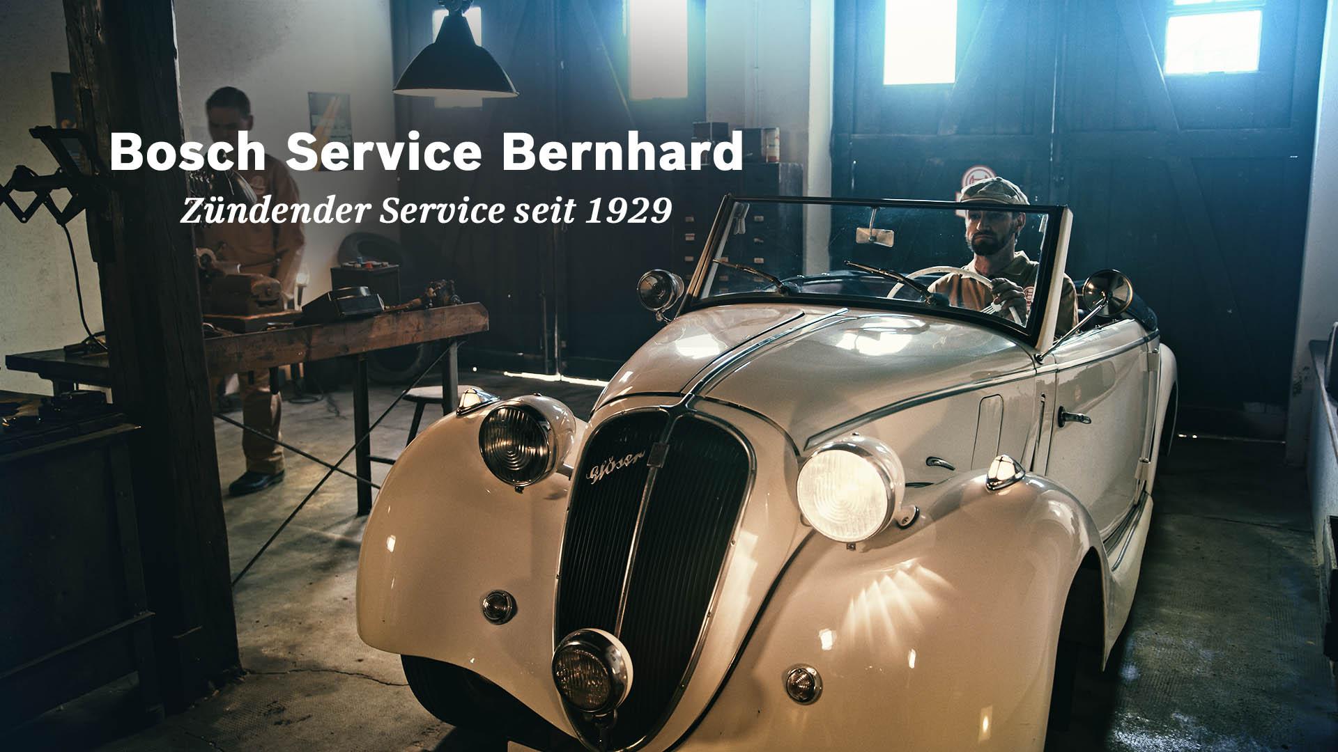 Firmenhistorie im Film inszeniert – Bosch Service Bernhard