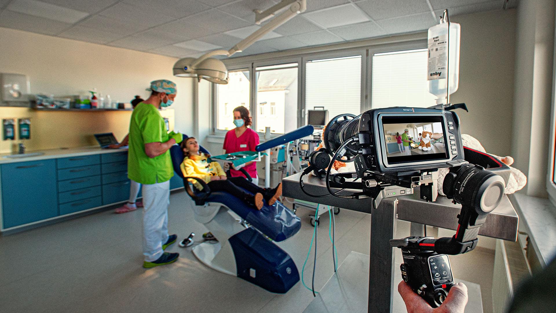 Imagefilm Oralchirurgie